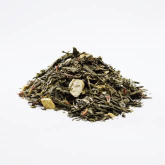 Zielona herbata z żenszeniem i cytryną