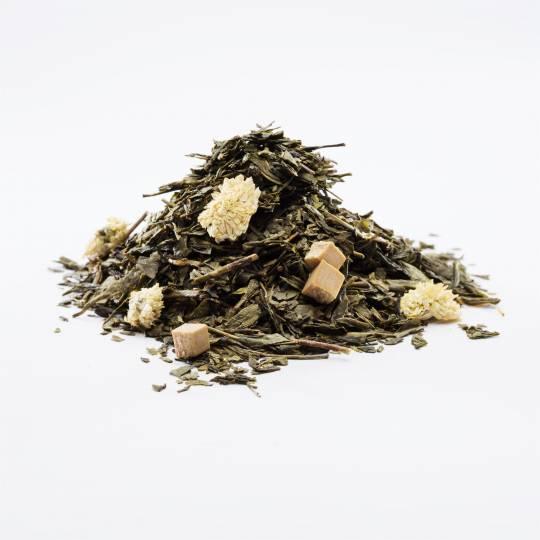 Zielona herbata z karmelem