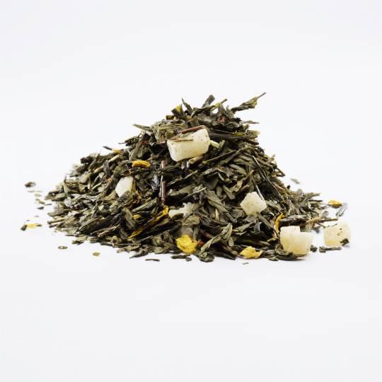 Zielona herbata z ananasem