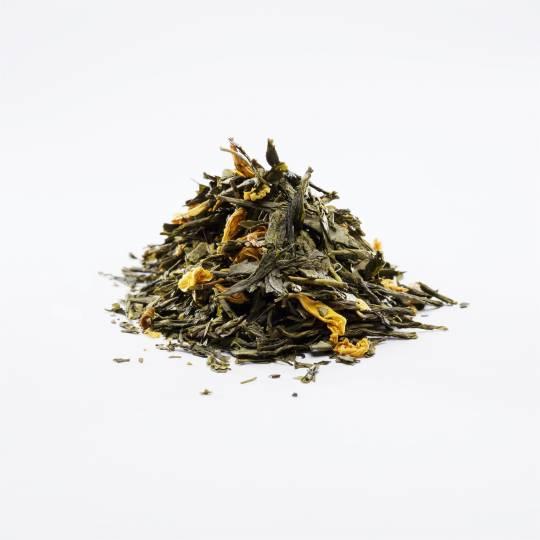 Zielona herbata z brzoskwinią