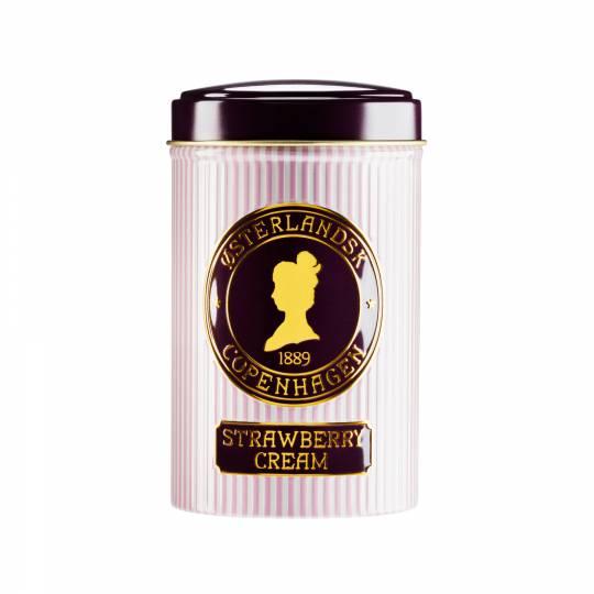 Herbata Krem truskawkowy 125g puszka