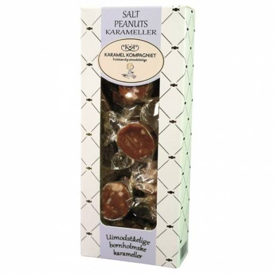 Peanuts & Salty Toffees, purple giftbox 100g