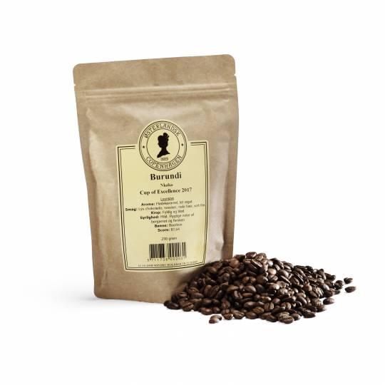 Burundi Nkaka kaffe - COE 2017 250g