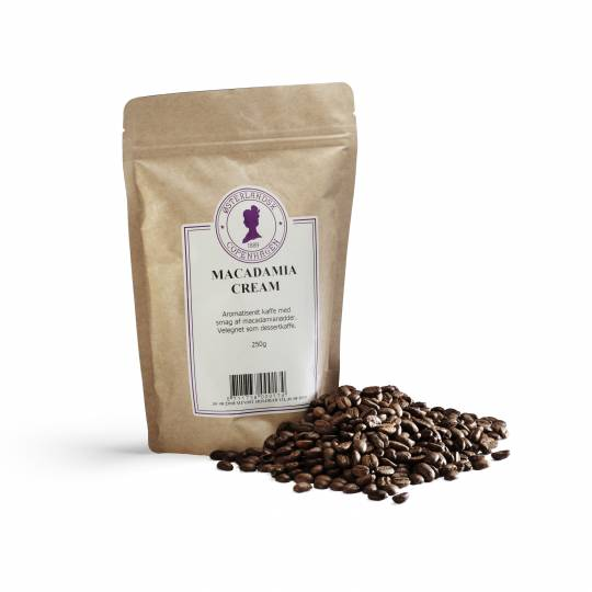 Macadamia Cream kaffe 250g