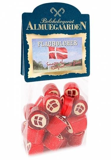 Nationalflag, Klodsbundspose, 150g