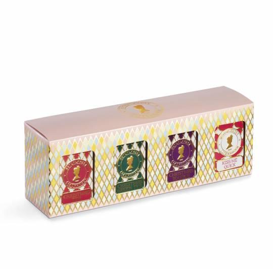 Geschenkbox mit 4 Dosen Tee - Weihnachtstee