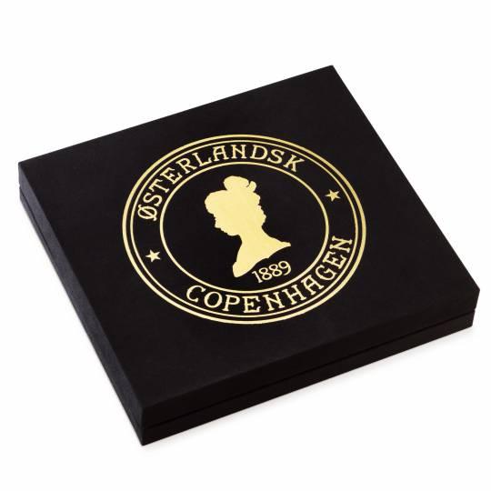 Østerlandsk Helårs-Gaveæske, 24 stk minidåser løsvægt