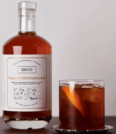 Toasted Old Fashioned