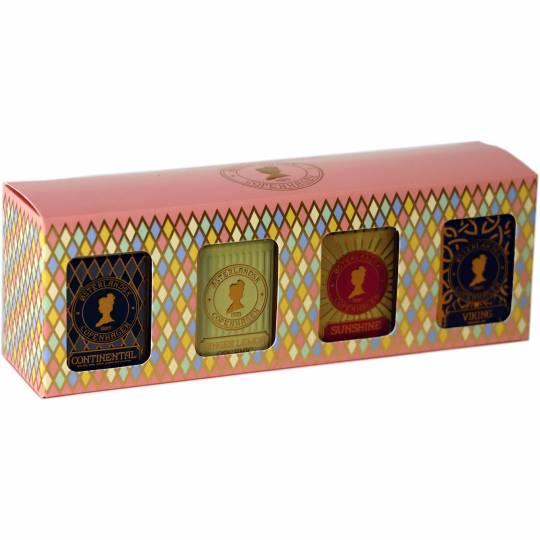 Geschenkbox mit 4 Dosen Tee - Bio-Tee